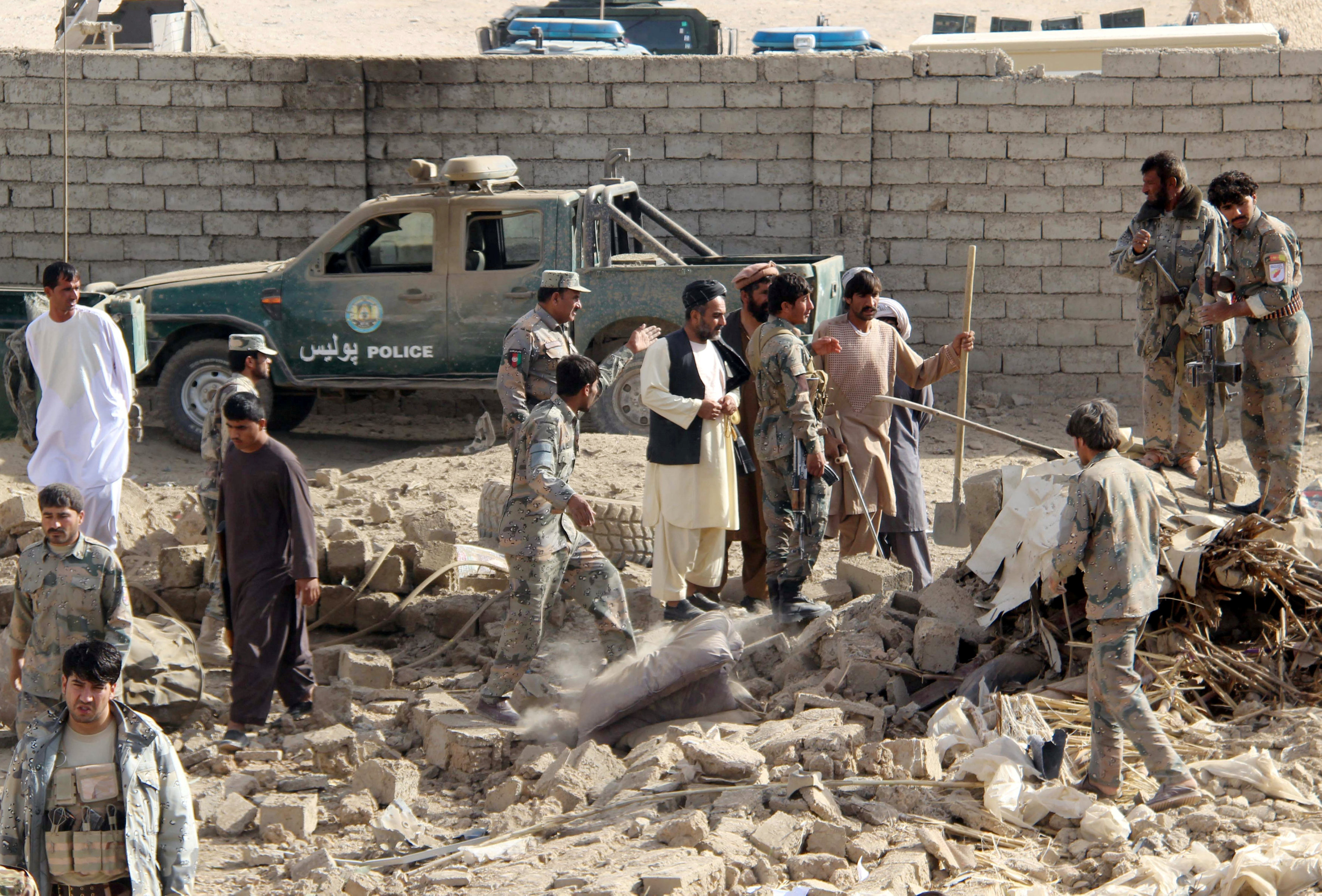 22 Afghan policemen killed as Taliban militants attack checkpoints in Kandahar