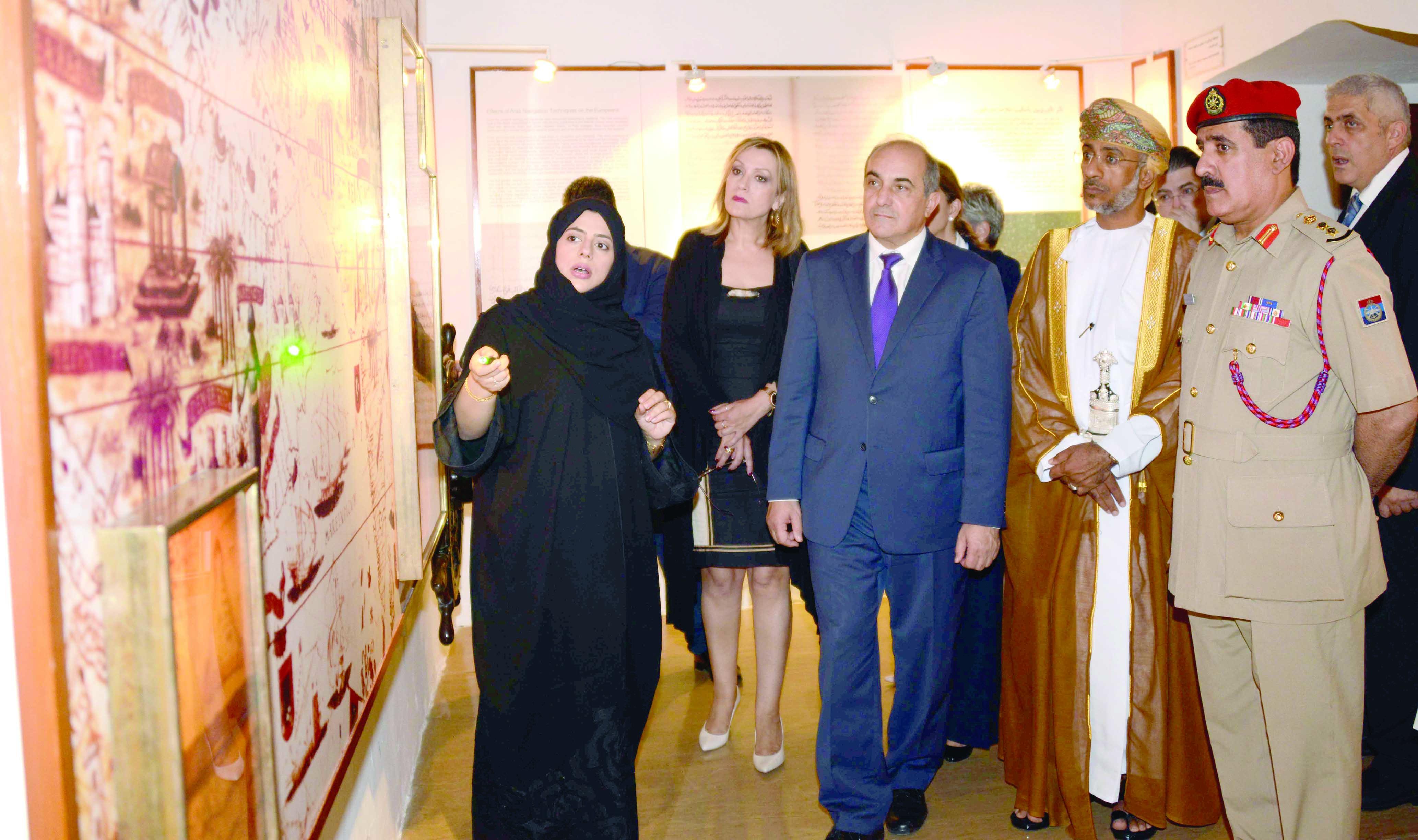 رئيس «النواب القبرصي» يزور متحف قوات السلطان المسلحة