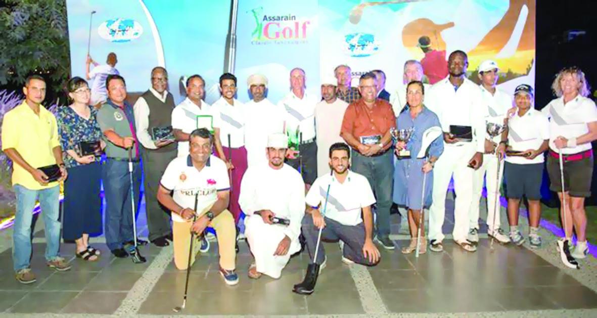 كامبل يحصد لقب «الجولف الكلاسيكية» لـ «مجموعة السرّين»