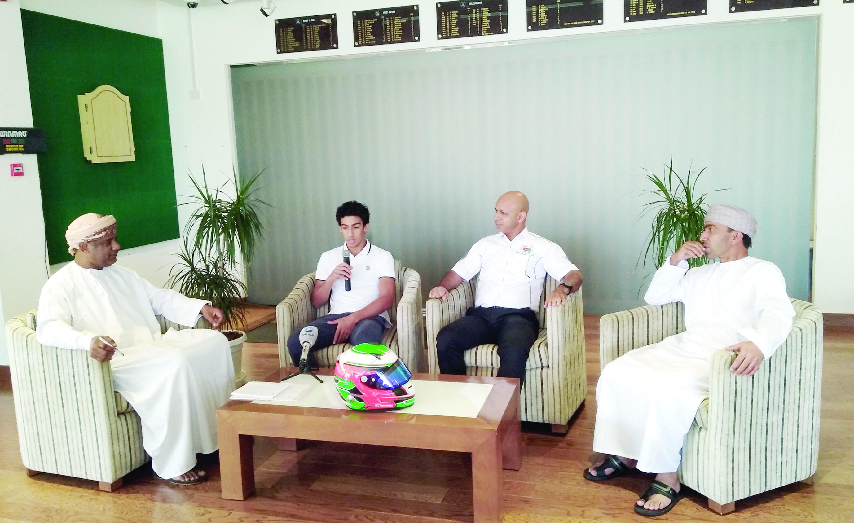 الوهيبي يشارك للمرة الأولى في بطولة الشرق الأوسط