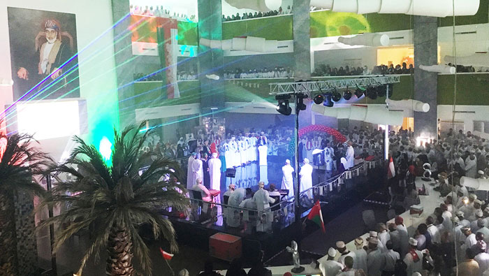 Al Manji enthrals audience at PDO's National Day celebrations