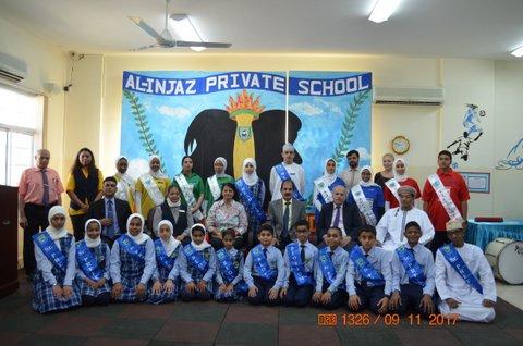 Student Council 2017-18 sworn in at Al Injaz