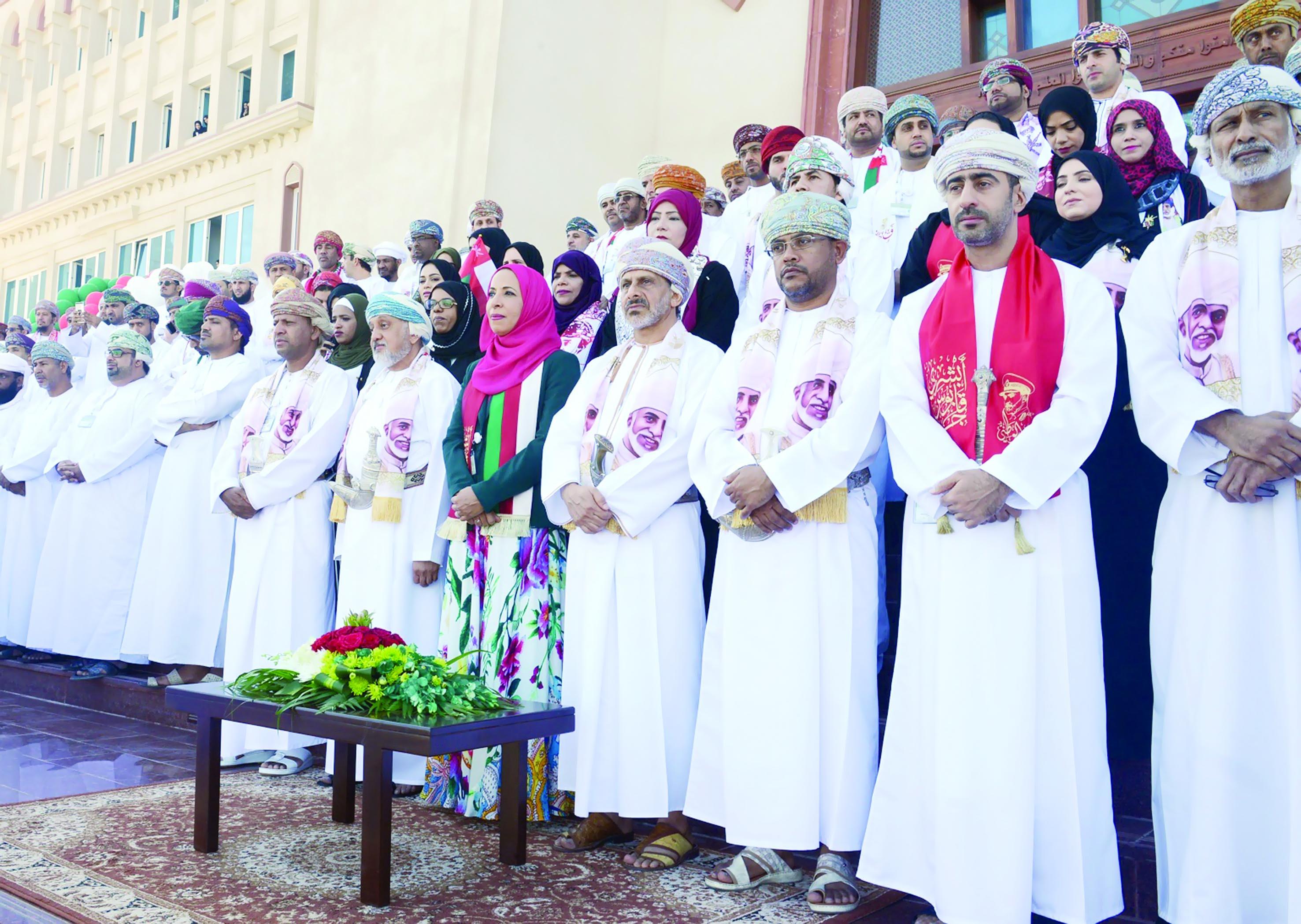 «التربية» تحتفل بالعيد الوطني المجيد