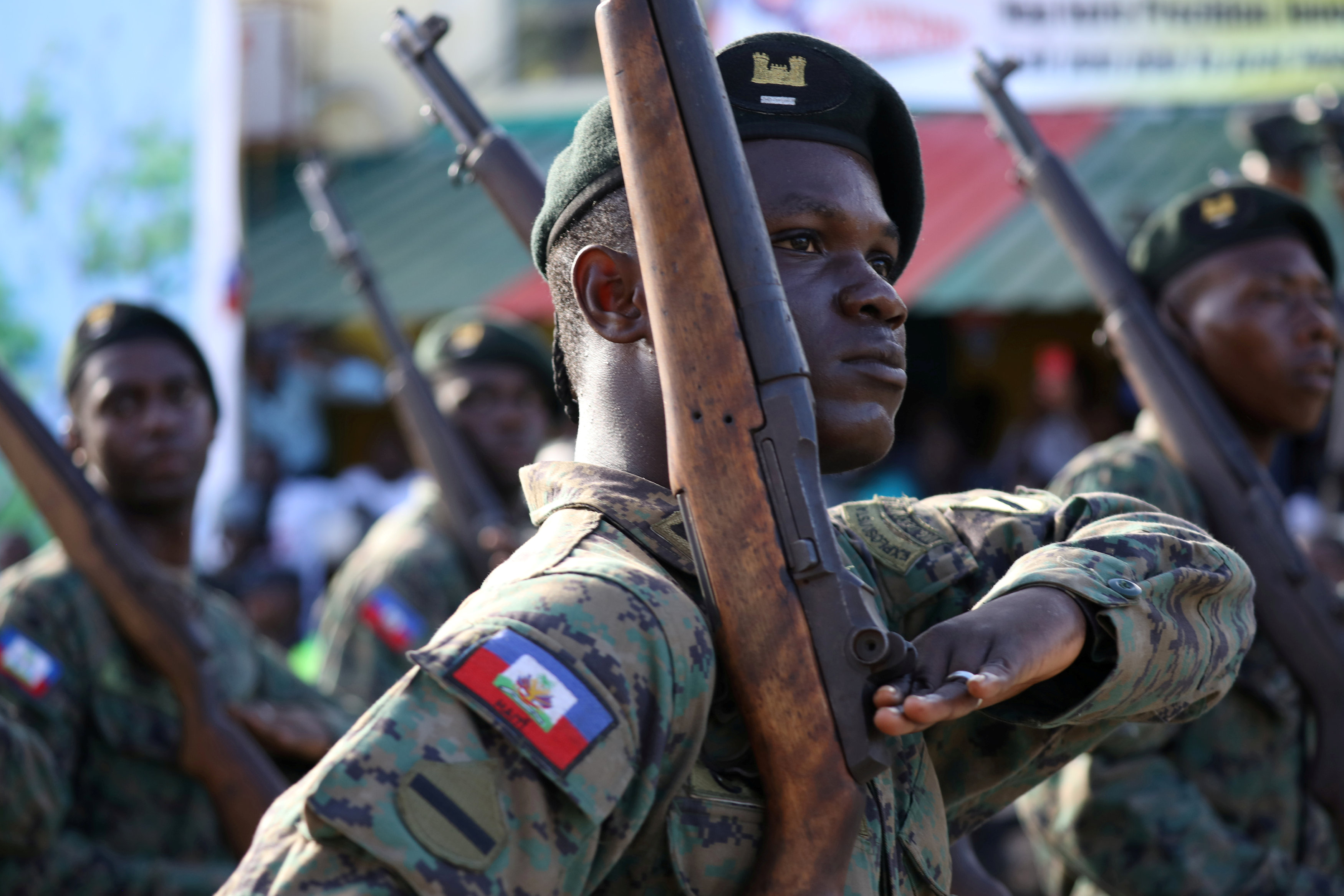 Haitian army set to make controversial return after two decades