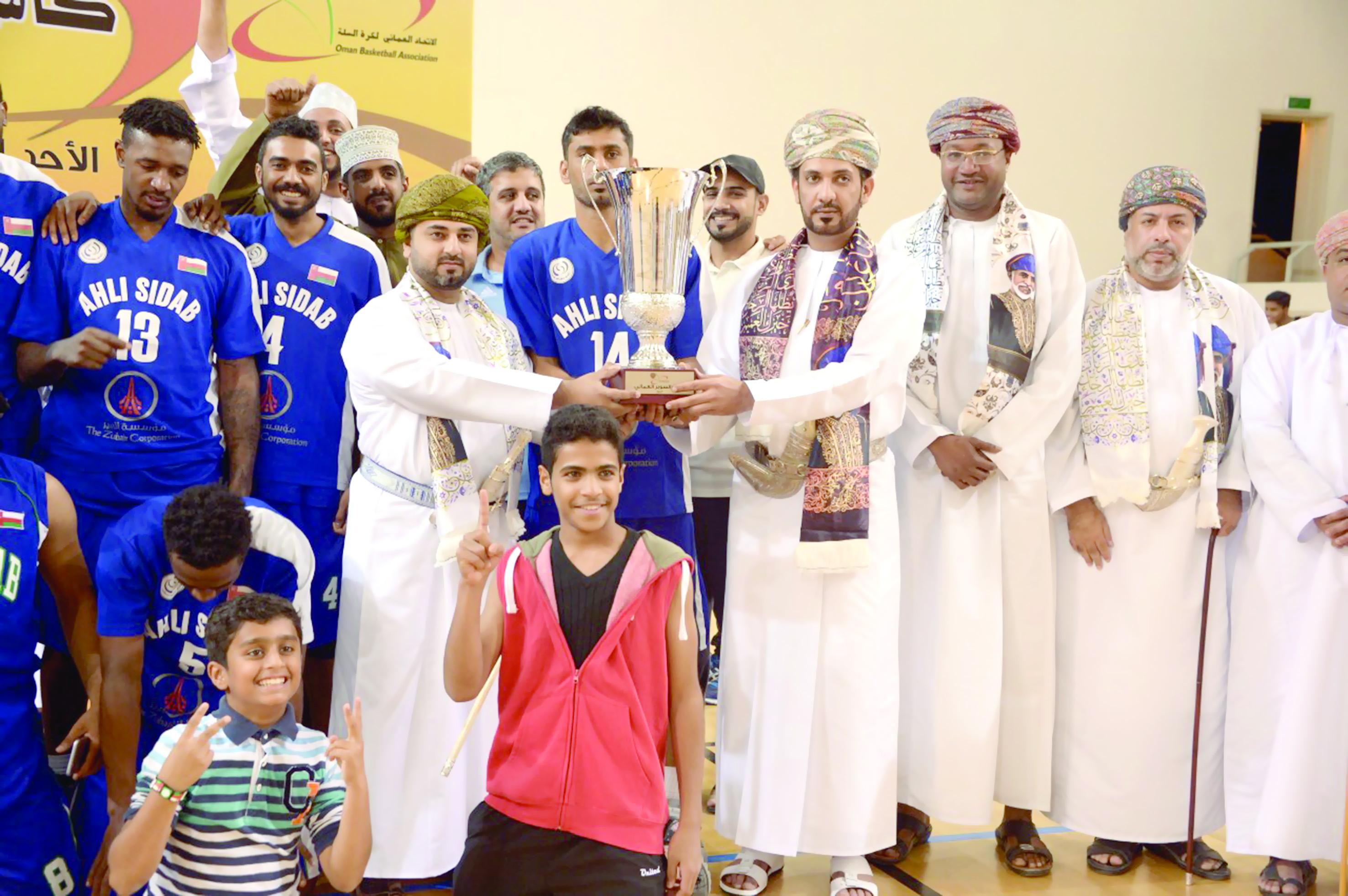 أهلي سداب يتوج بلقب كأس السوبر لكرة السلة