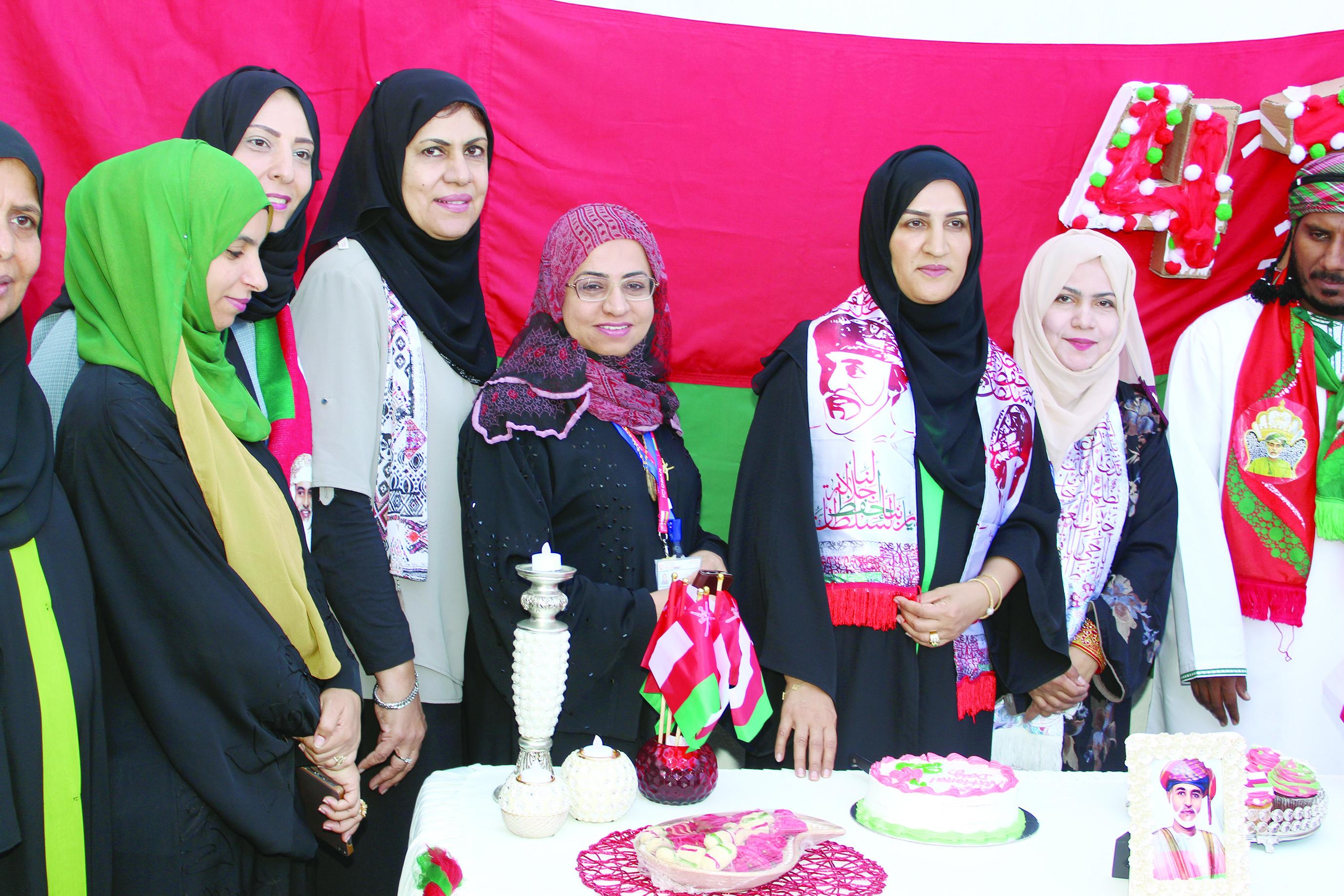 «صحية مسقط» تحتفل        بالعيد الوطني الـ47 المجيد