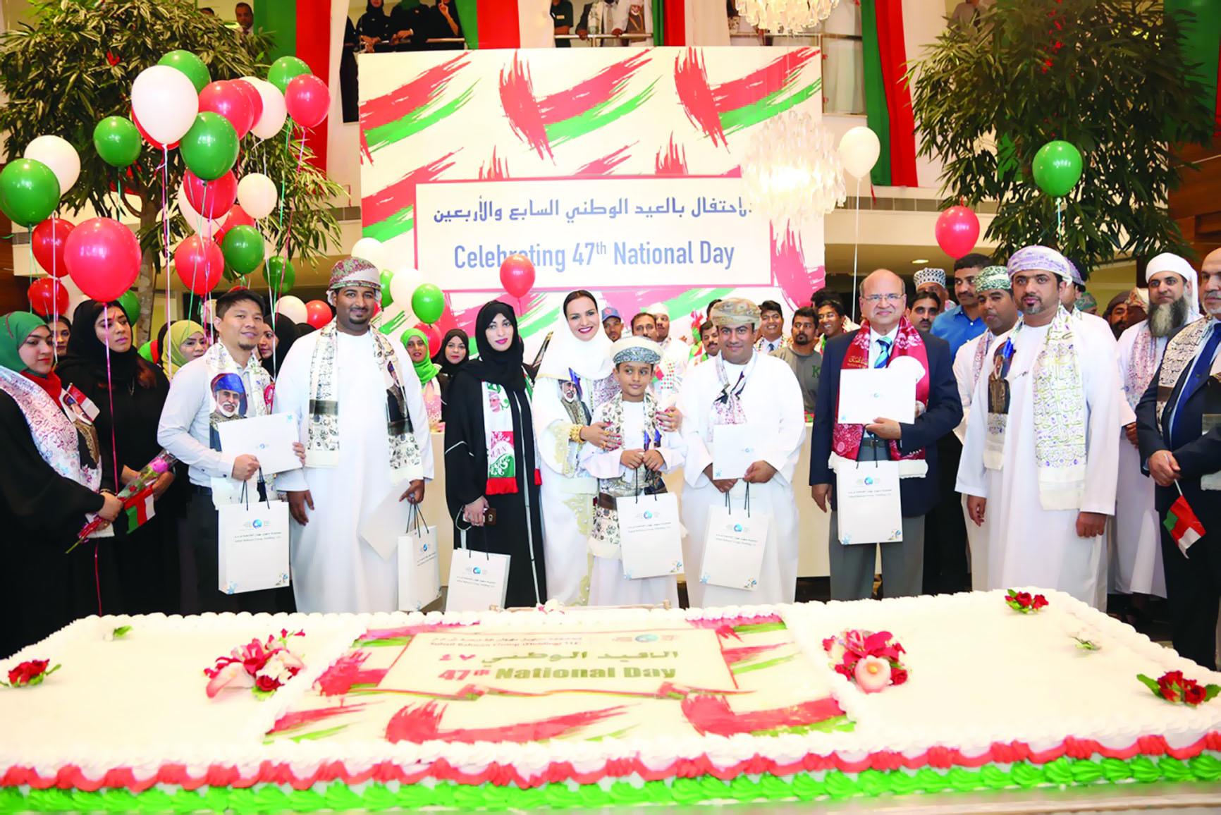«سهيل بهوان» تحتفل بالعيد المجيد