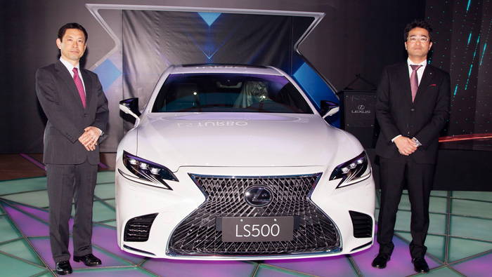Lexus launches all-new 2018 flagship LS in Oman