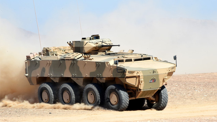 Oman launches new armoured personnel carrier