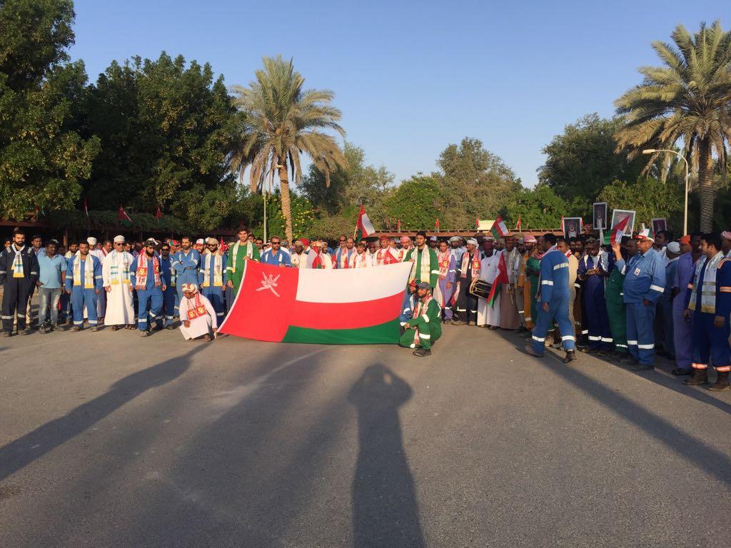 «نفط عُمان» تحتفل بالعيد الوطني