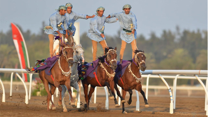 Sayyid Fahd presides over Royal horse races