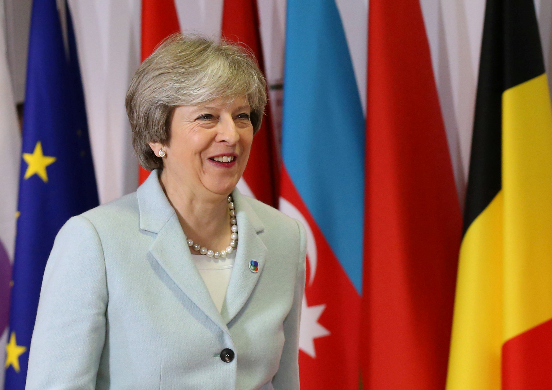 Theresa May visits Saudi Arabia, Jordan to boost ties