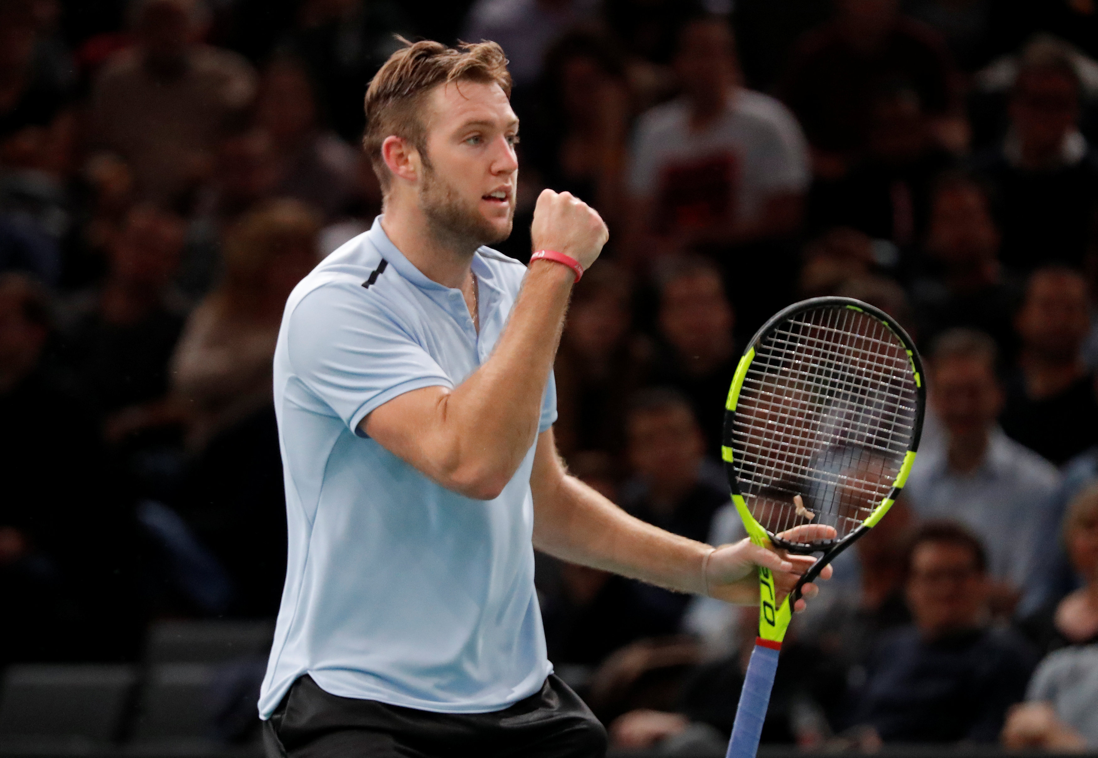 Tennis: Jack Sock on the brink of ATP Tour finals with Paris win