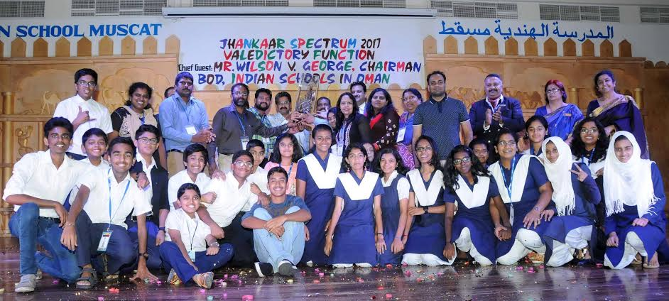 Indian School Muscat hosts contest and bags trophy