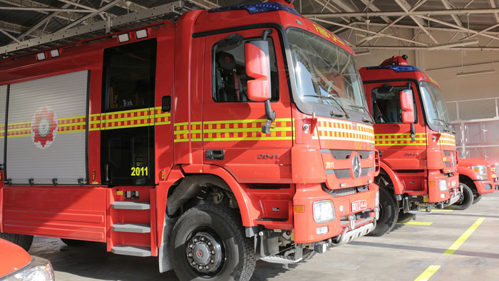 PDO donates fire trucks for students training in Oman