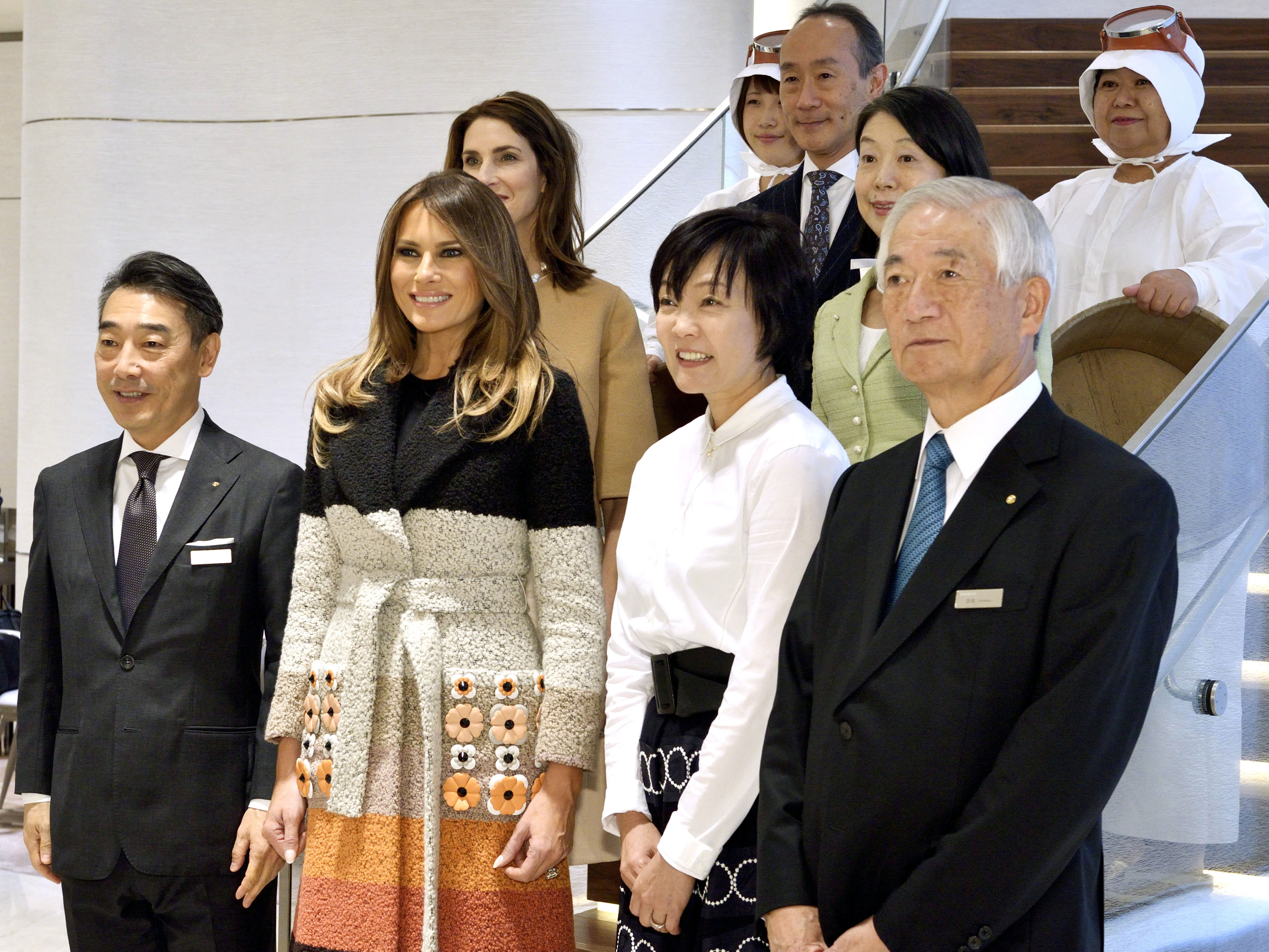 In pictures: Donald Trump in Japan