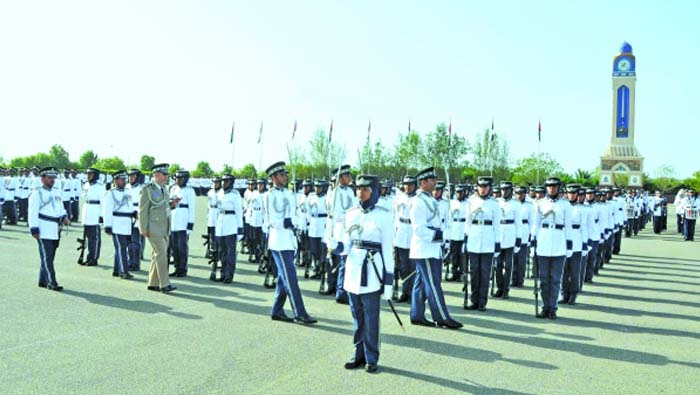 ROP celebrates opening Special Task Force unit, graduation of recruits in Duqm