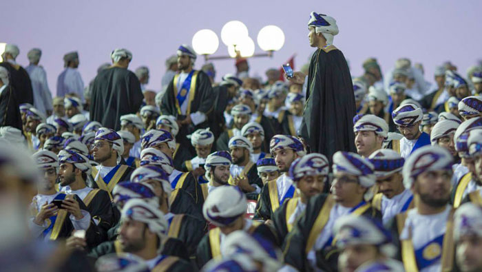 More than 1,800 science students graduate from Oman's Sultan Qaboos University