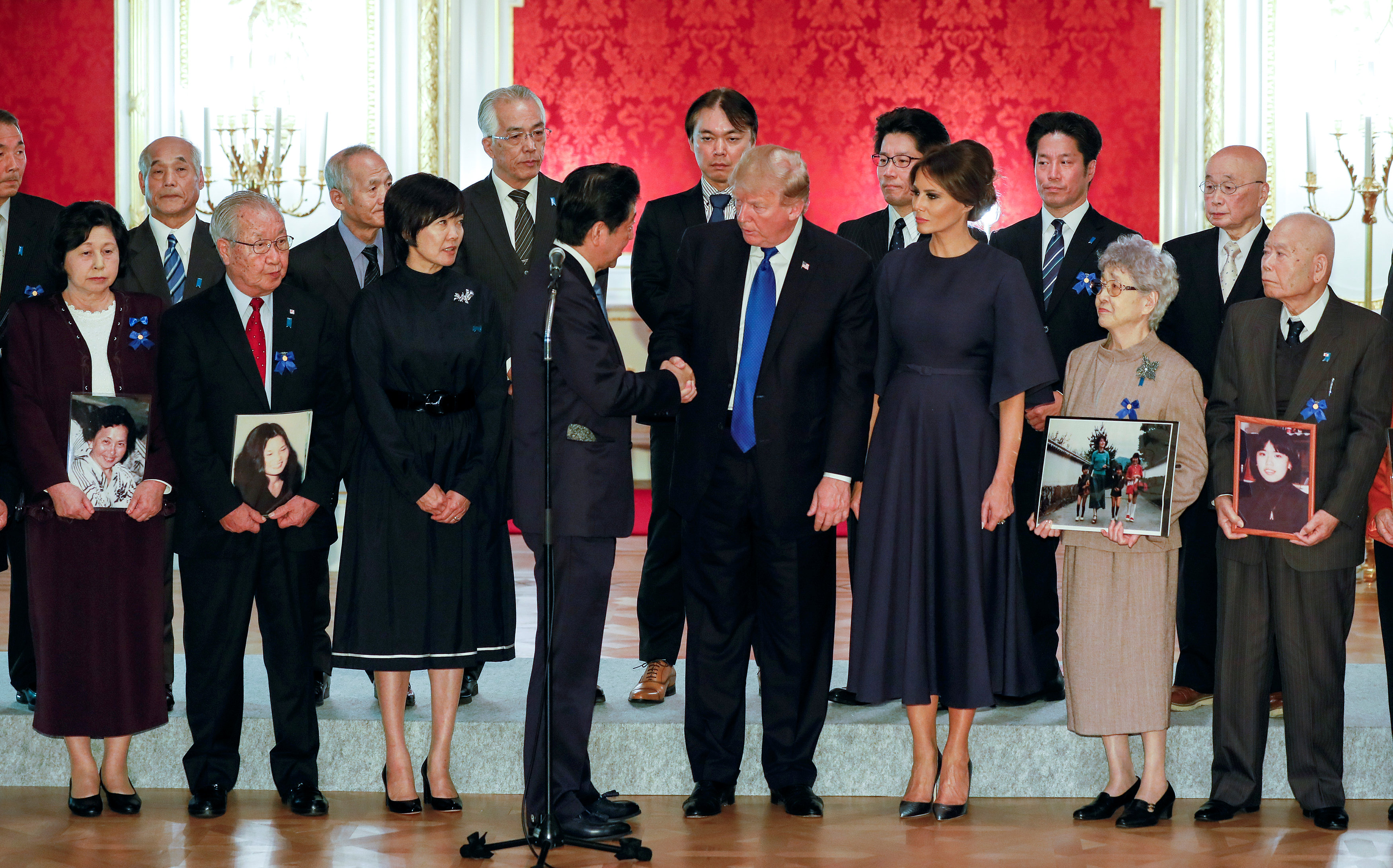 In pictures: America stands with Japan