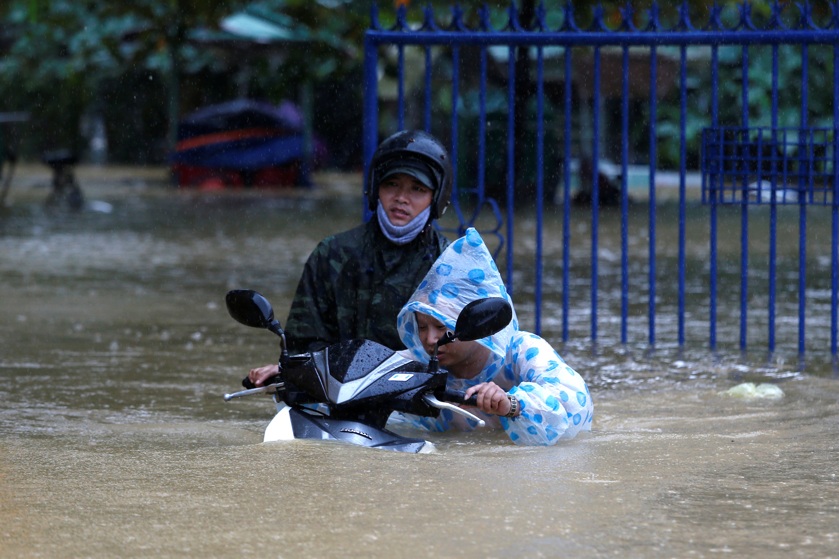Death toll from Vietnam storm tops 60 and dams near bursting