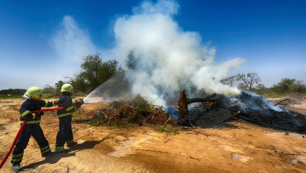 Almost one farm fire every day in Oman last year