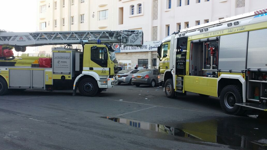 Five treated for fire injuries at Mawaleh in Muscat