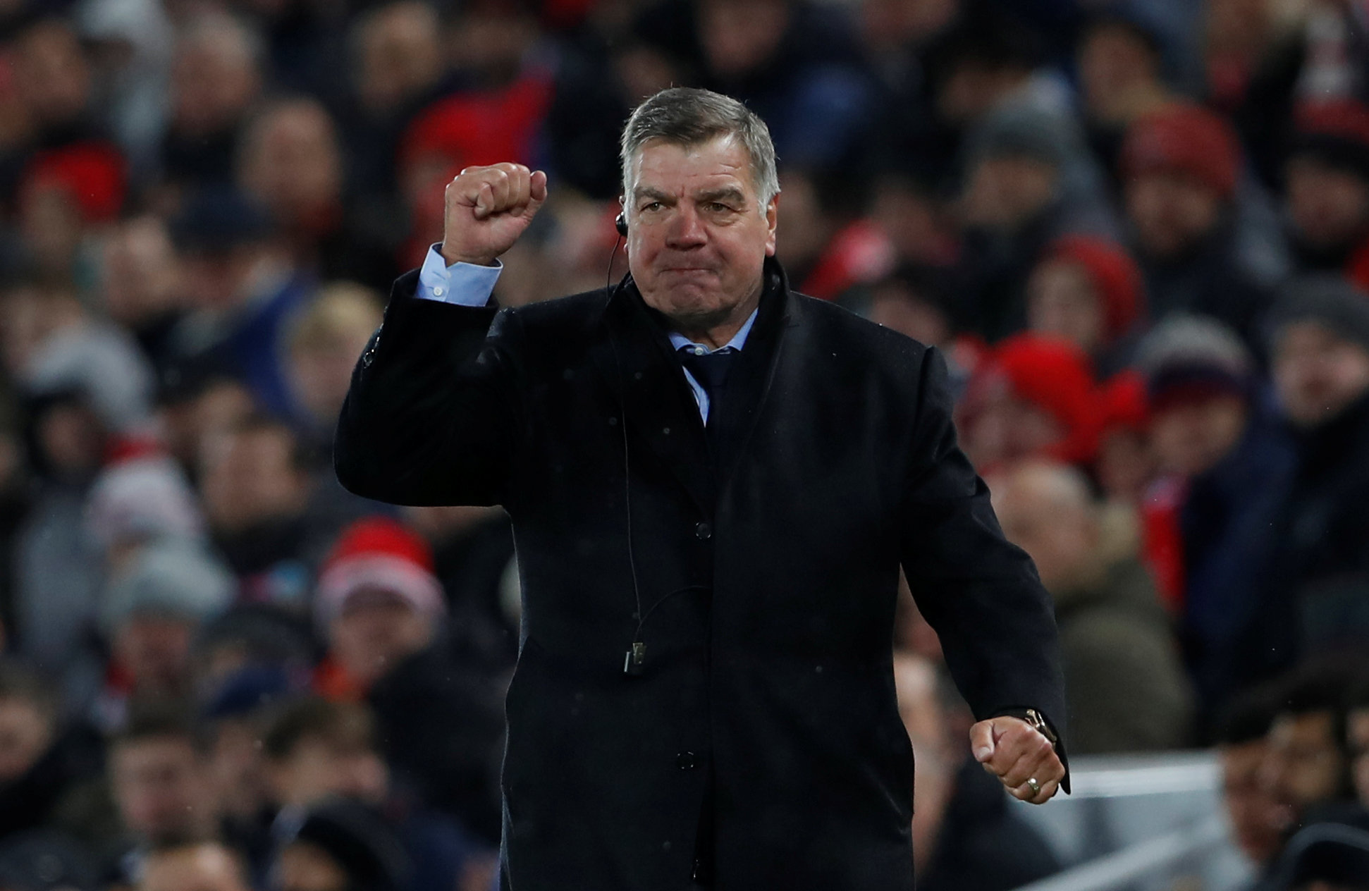 Football: Allardyce to review Everton players before January