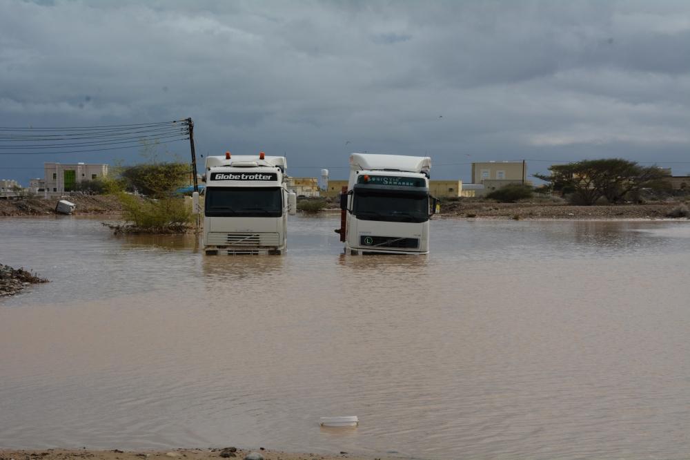 تعرف على كميات الأمطار التي هطلت على محافظات السلطنة
