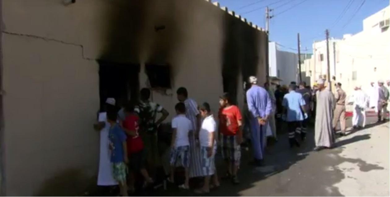 بالفيديو.. الدفاع المدني يوضح ملابسات حريق نزوى