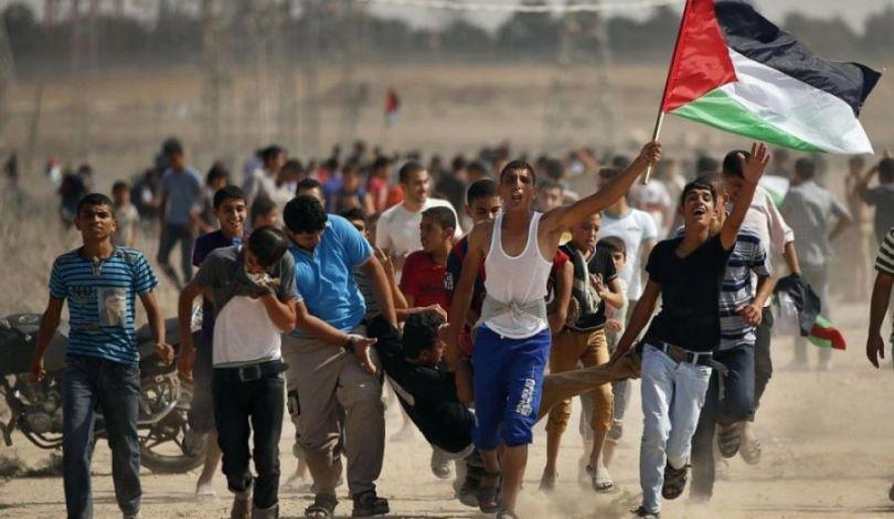 استشهاد شاب فلسطيني برصاص الاحتلال في غزة