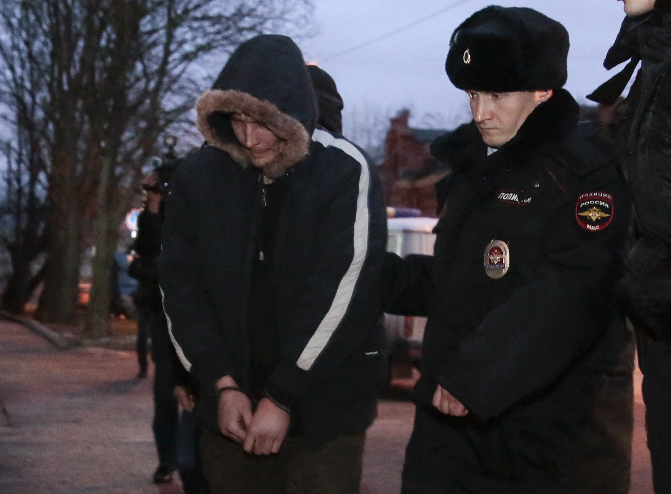 Russia indicts St. Petersburg blast suspect on terrorism charges