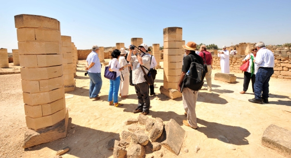 نحو 12 ألف زائر لمواقع أرض اللبان خلال نوفمبر