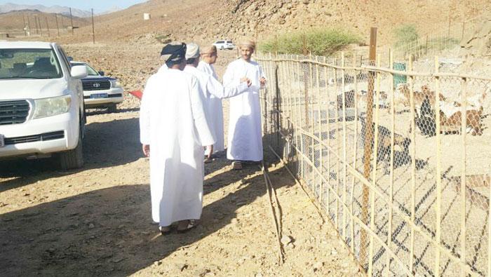 Illegal land plots seized in Oman