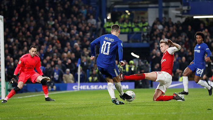 Football: Chelsea spurn chances in League Cup stalemate with Arsenal