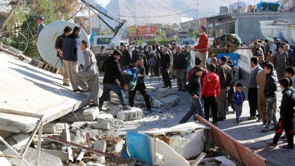 Earthquake hits Iran-Iraq border region, felt in Baghdad