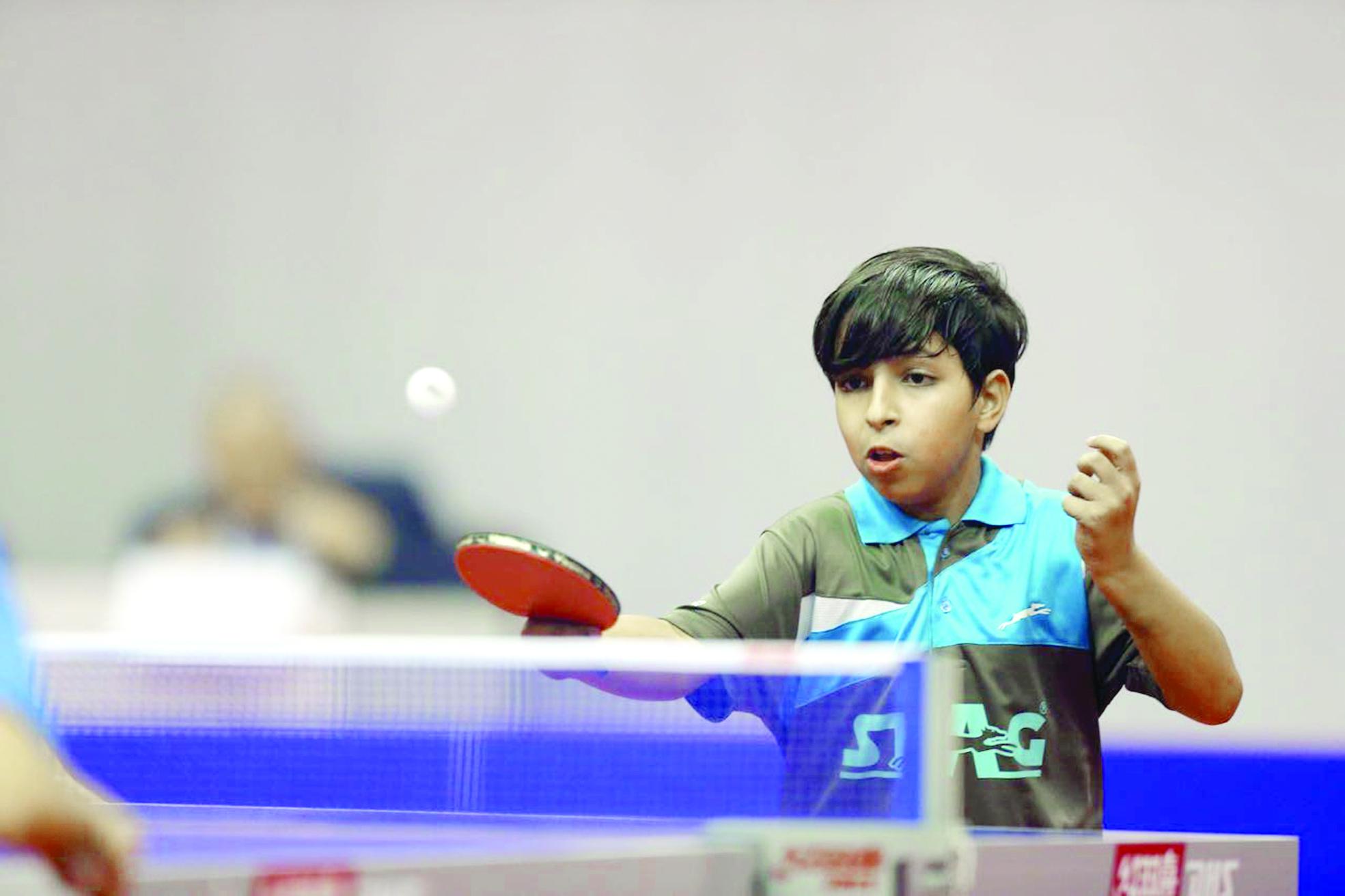 أشبال وناشئة منتخب كرة  الطاولة يستعدون لبطولة العالم