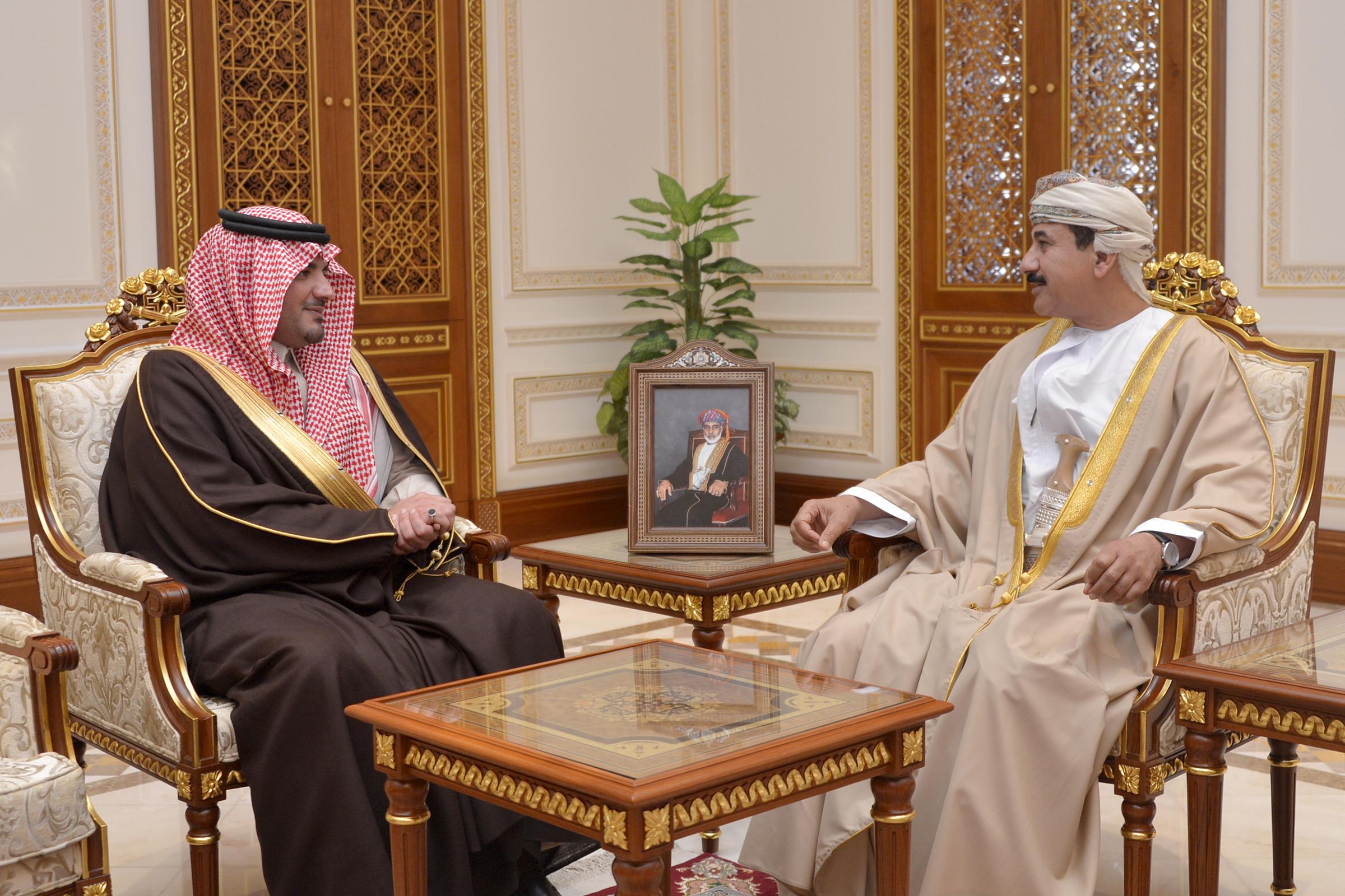النعماني يستقبل وزير الداخلية السعودي