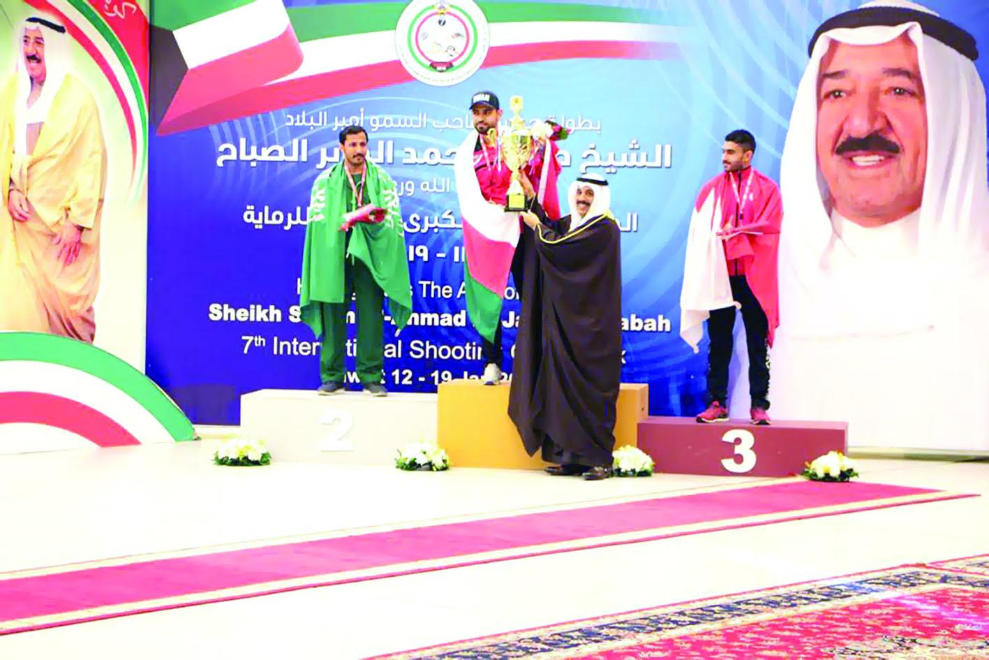 «الوطني للرماية»يتوج بـ «ذهب» بطولة أمير الكويت
