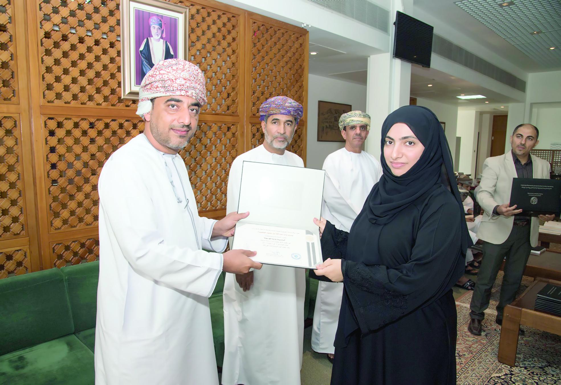 التدريب على «إدارة الجودة» بجامعة السلطان قابوس