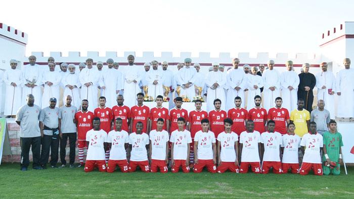 Bank Muscat celebrates 40th Green Sports football field in Suwaiq