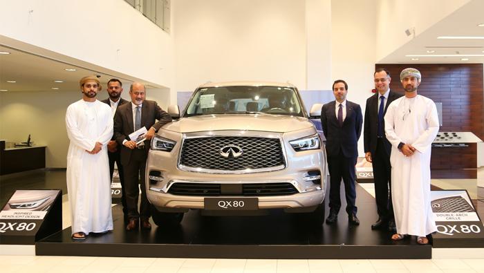 Infiniti QX80 makes Oman debut