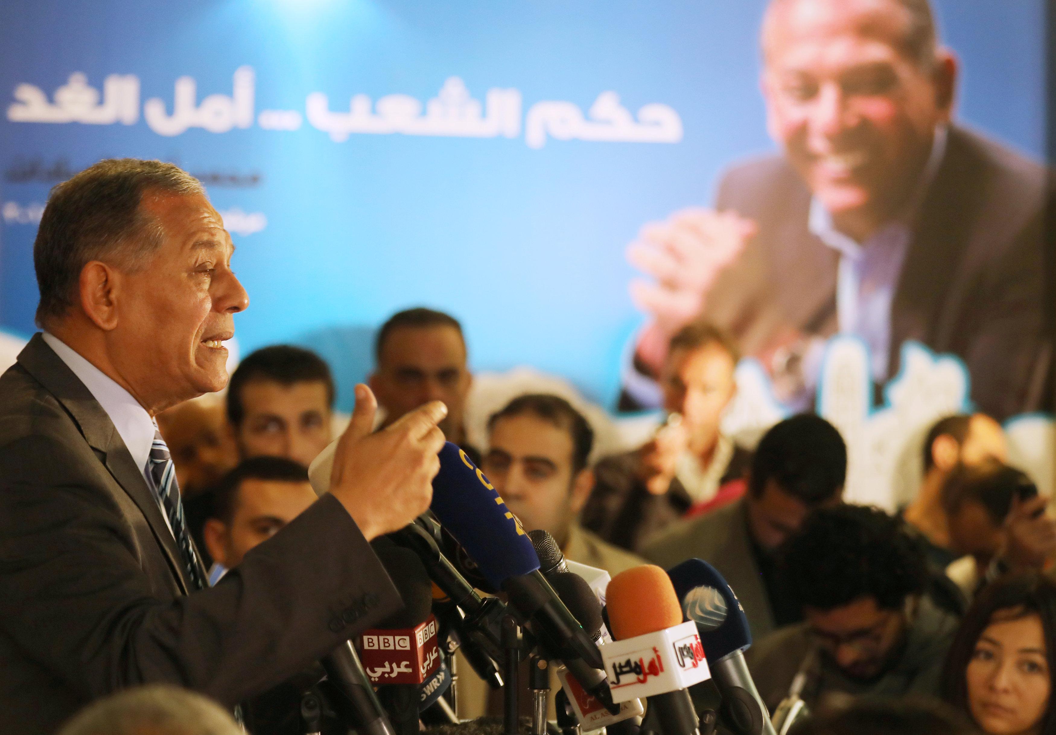 Egypt too repressive for election bid, says ex-president Sadat's nephew