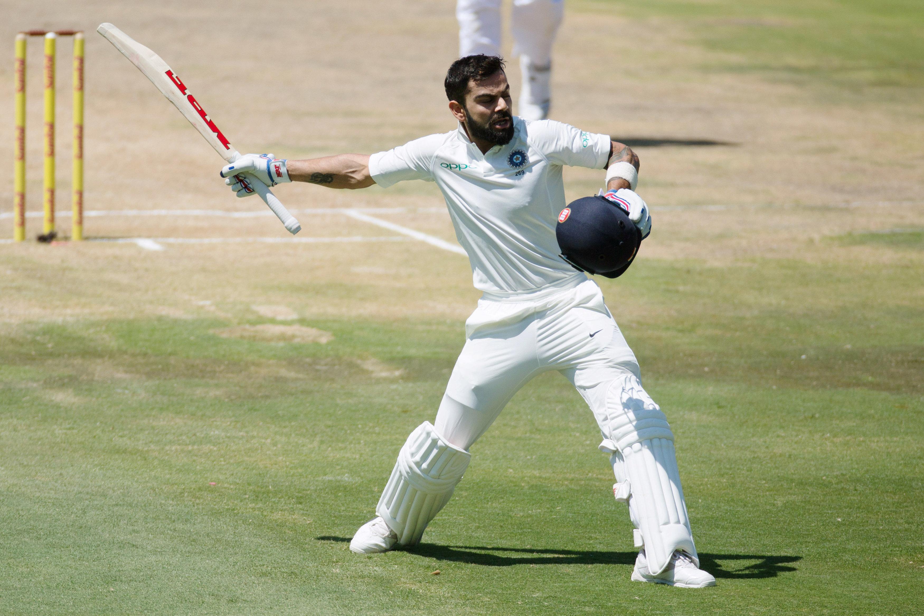 South Africa extend lead after Virat Kohli's ton