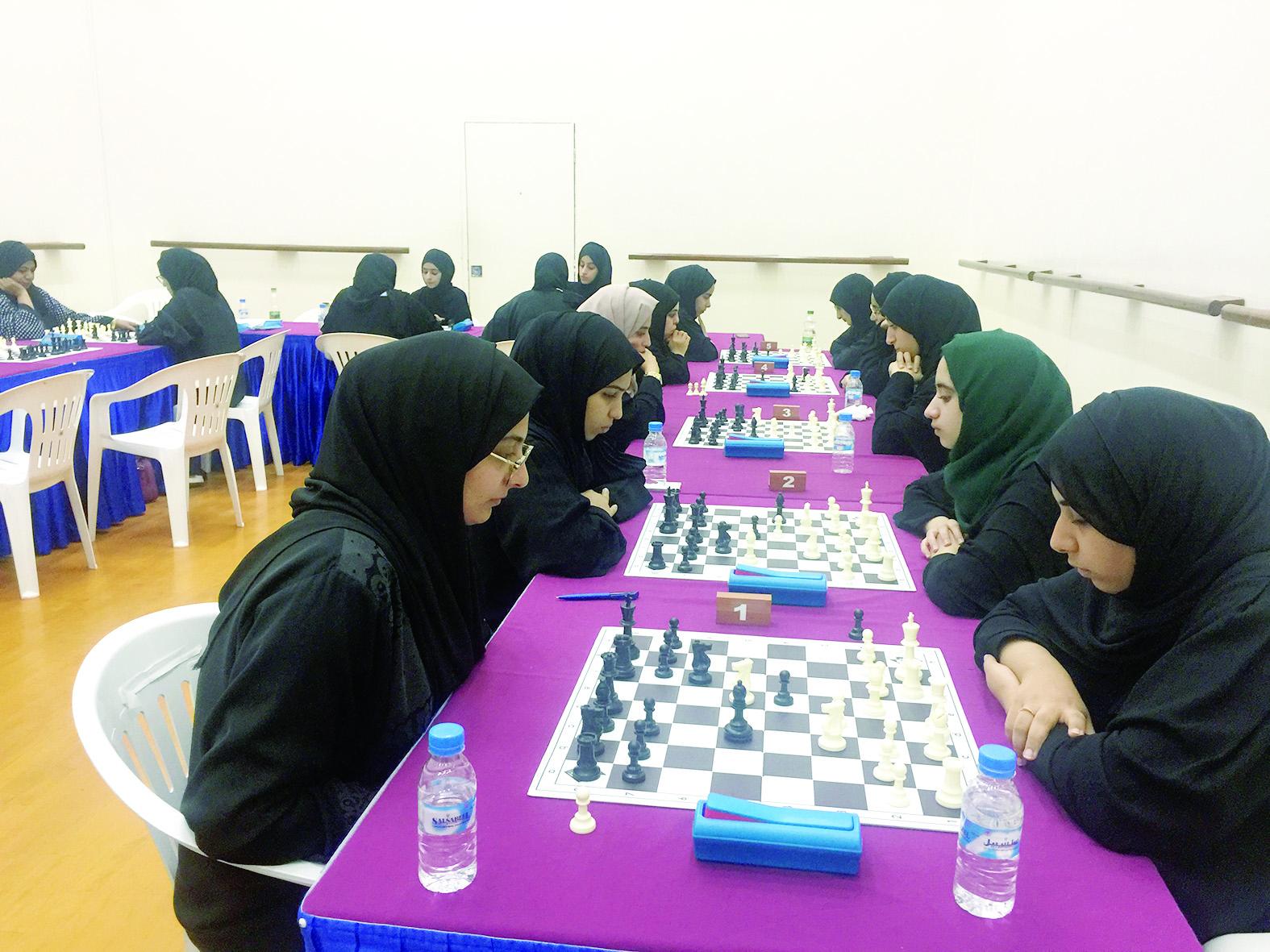 اختتام دورة «الشطرنج»في جامعة السلطان قابوس
