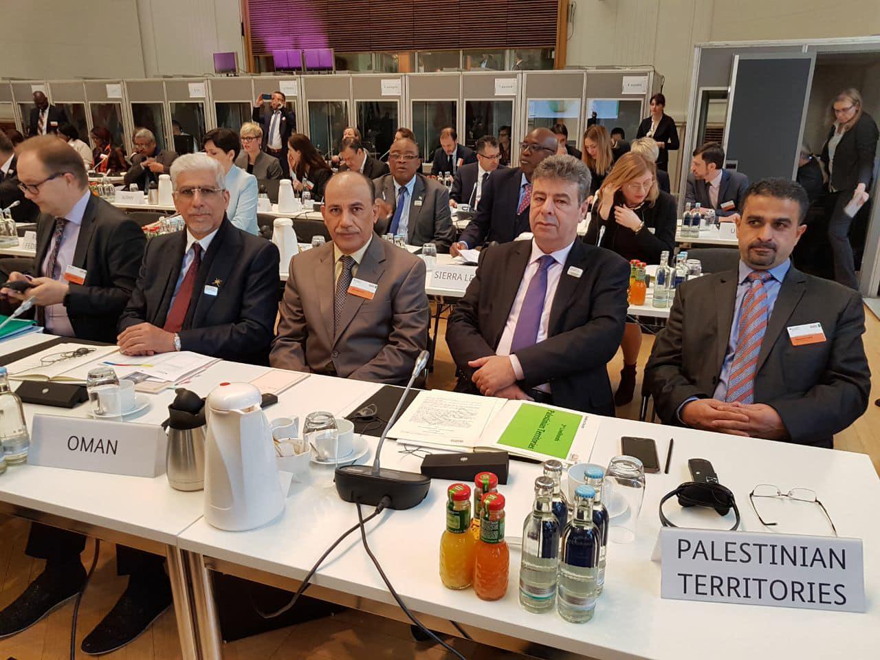 السلطنة تشارك في الملتقى العالمي للأغذية والزراعة ببرلين