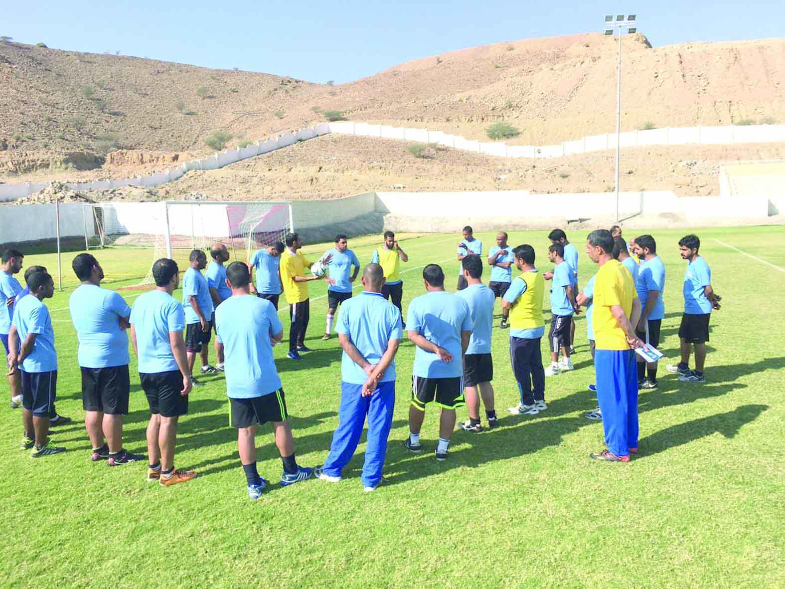 حلقة عمل لحكام كرة القدم في «الرستاق»