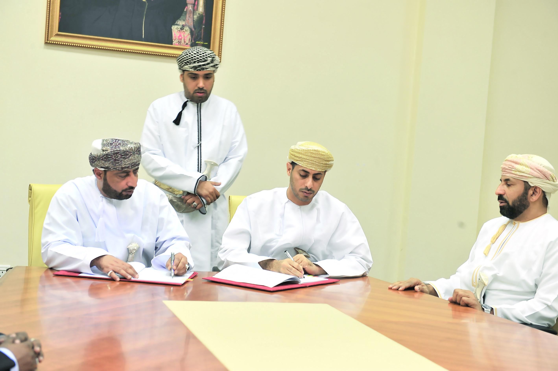 في ولاية إبراء توقيع اتفاقية إنشاء مشروع المجمع الرياضي