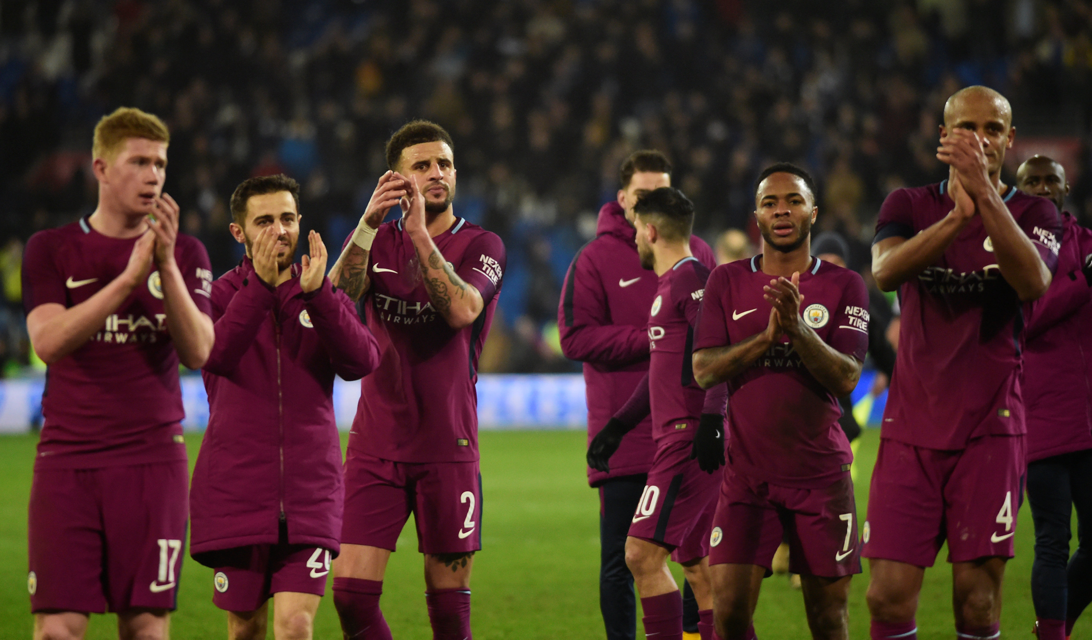 Football: Classy City breeze past Cardiff in FA Cup