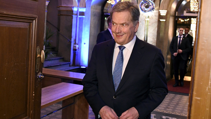 Finland's president Niinisto poised for easy re-election win