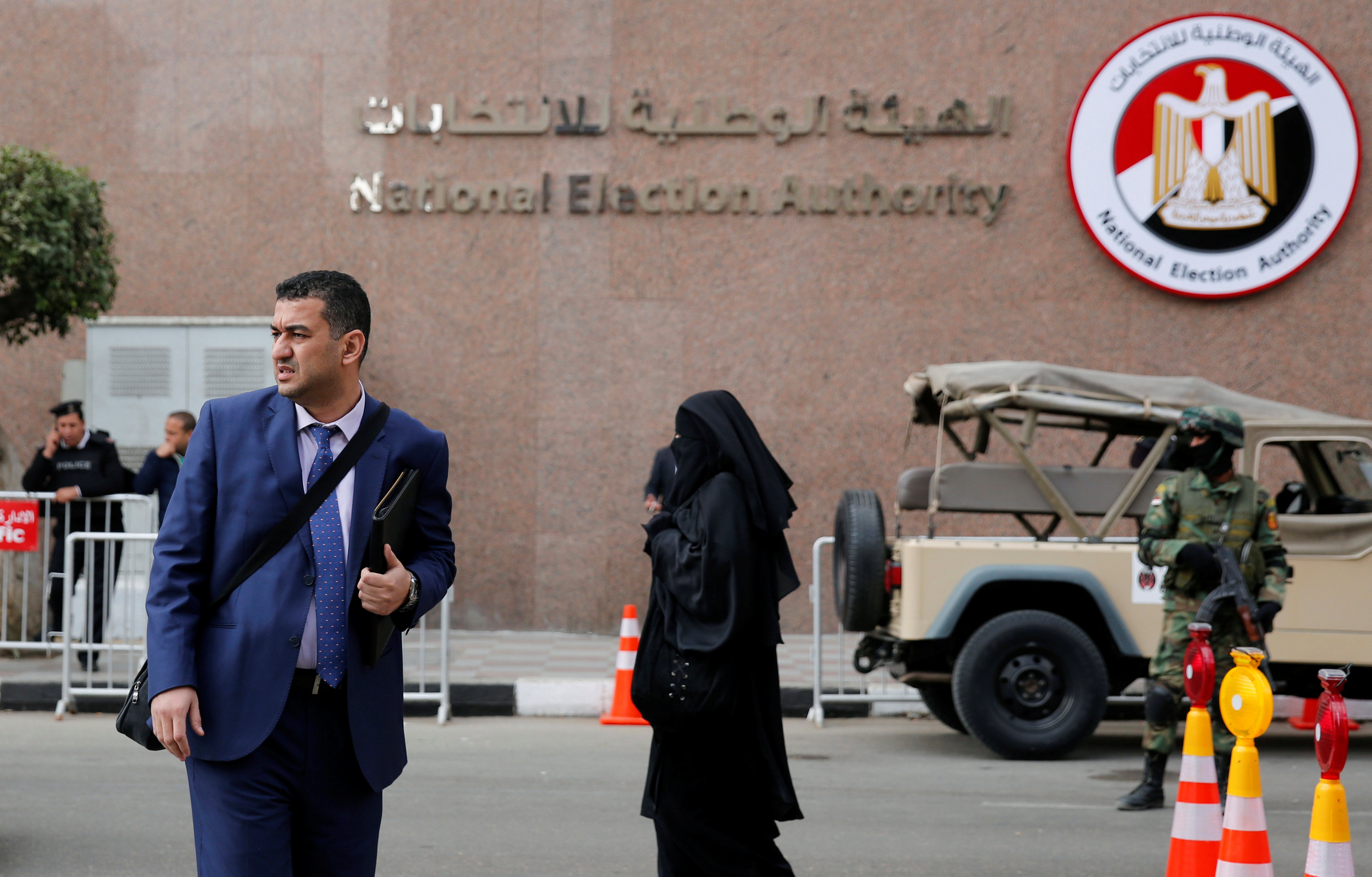 Leading opposition figures call for boycott of Egypt's election